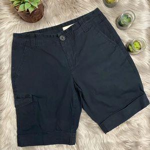 DKNY Black Shorts With Cargo Pocket Size 2